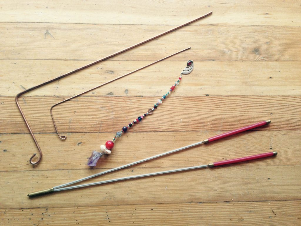 Photo of Dowsing Rods for Feng Shui Geomantic Dowsing