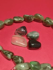 Photo of Semi Precious Green Jade Stones for Feng Shui