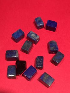 Photo of Semi Precious Indigo Lapis Lazuli Stones for Feng Shui