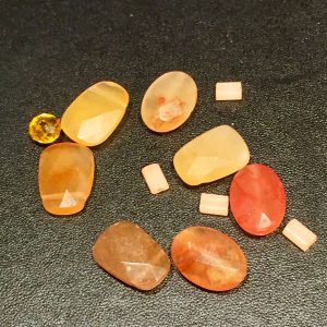 Photo of Semi Precious Orange Carnelian Stones for Feng Shui